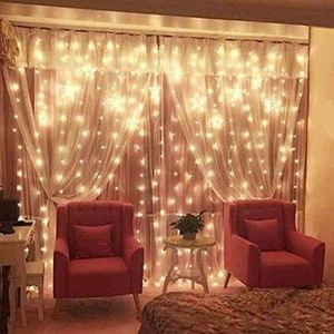 Other - Twinkle Star 300 LED Curtain String Lighting Decor